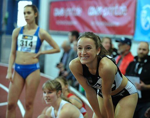 Lisa Mayer (Sprintteam Wetzlar) schrammt nur hauchdünn an Norm für die Hallen-EM vorbei - Teamkollege Michael Pohl gefällt ebenfalls mit 60-Meter-Sieg